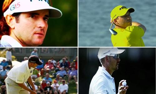 Bubba Watson, Sergio Garcia, Matt Kuchar et Henrik Stenson : sérieux candidats à la victoire