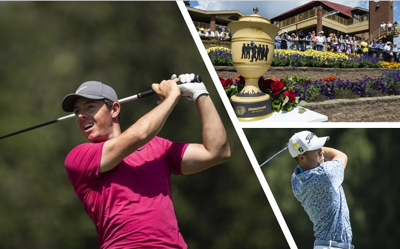 WGC-Bridgestone Invitational: Match final au sommet entre McIlroy et Thomas - Crédit photo : Shelley Lipton/Icon Sportswire