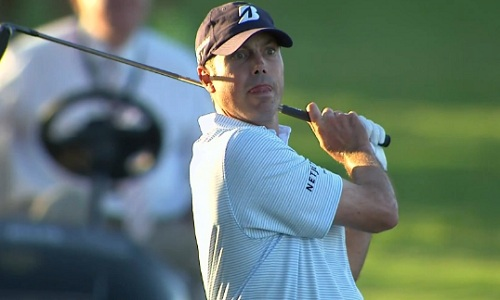 Matt Kuchar a l'un des swings les plus plats du PGA Tour