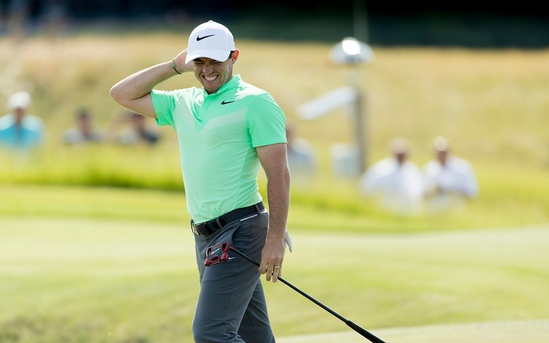 US Open 2017 : Rory McIlroy, un nouveau putter et un premier tour catastrophique - Crédit photo : Mark Newcombe