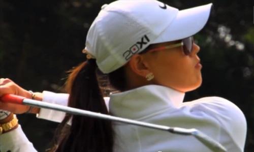 Michelle Wie joue la précision à Rancho Mirage