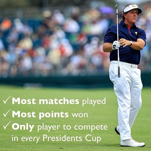 Phil Mickelson...Mon Pro, ce héros !