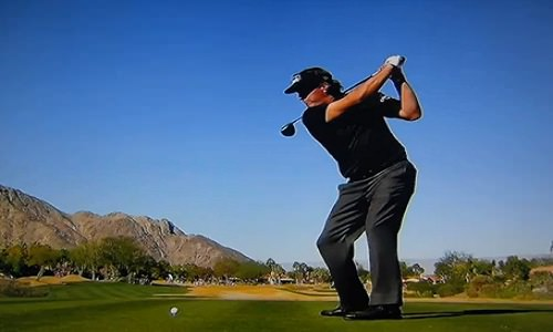 Phil Mickelson au drive !