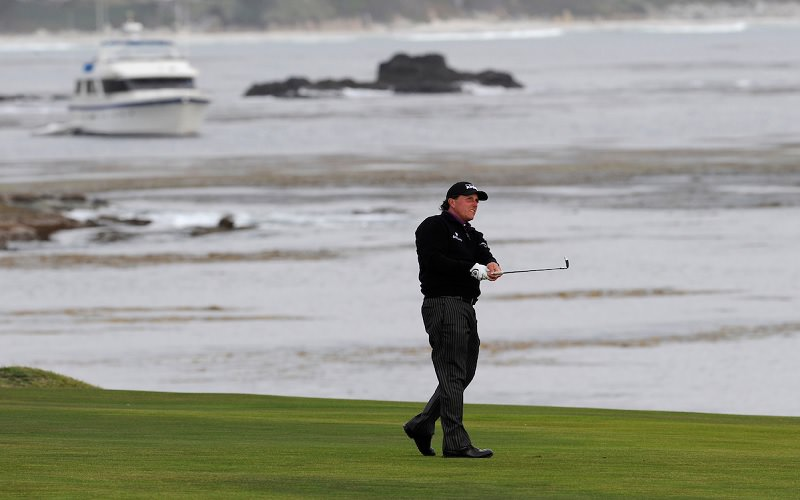 Pebble-Beach : Le Masters d'Augusta 2018 en point de mire pour les gauchers