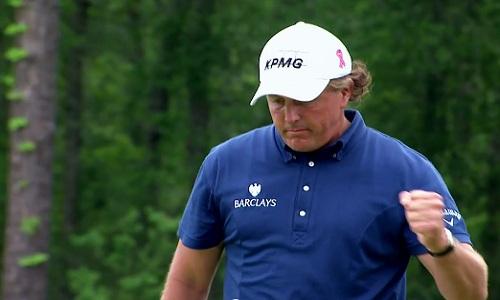 Phil Mickelson arrive en tête des golfeurs avec un total de 50.8 millions de dollars
