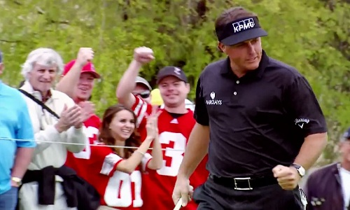 Mickelson, le poulidor du golf américain