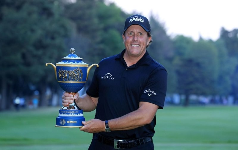 Phil Mickelson remporte le WGC-Mexico Championship 2018 - Crédit photo : Getty Images