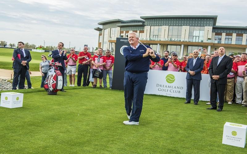 Golf en Azerbaïdjan: Monty inaugure le Dreamland Golf Club à Bakou