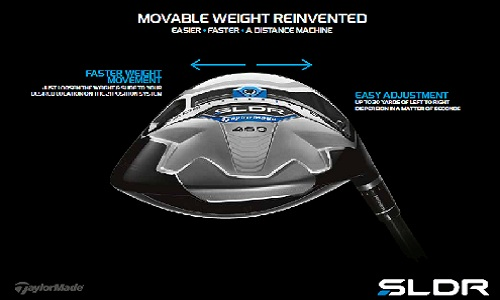 Nouveau système d'ajustement des poids sur le driver SLDR