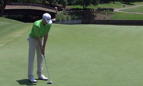 Pour un amateur, rentrer le putt en un coup sur un green est tout de même quelque chose de rare.