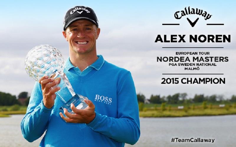 Nordea Masters: Noren, ce golfeur venu du nord qui maîtrise le vent @Callaway