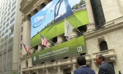 Le PGA Tour l'honneur cette semaine à la Bourse de New York