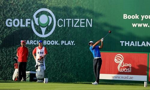 Tiger Woods à Dubai