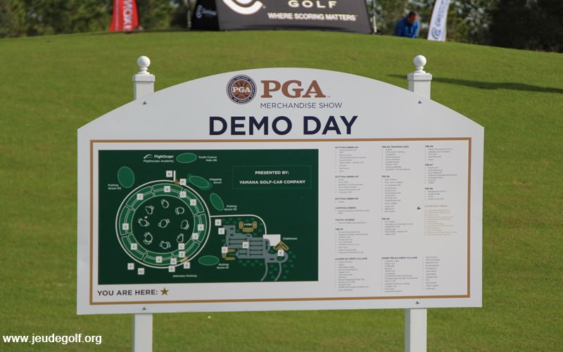 PGA Merchandise Show 2016: Le demo day de la démesure