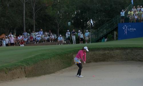 Sortie de bunker pour le LPGA Tour en 2014 !