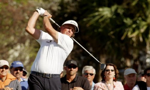Phil Mickelson out pour le week-end