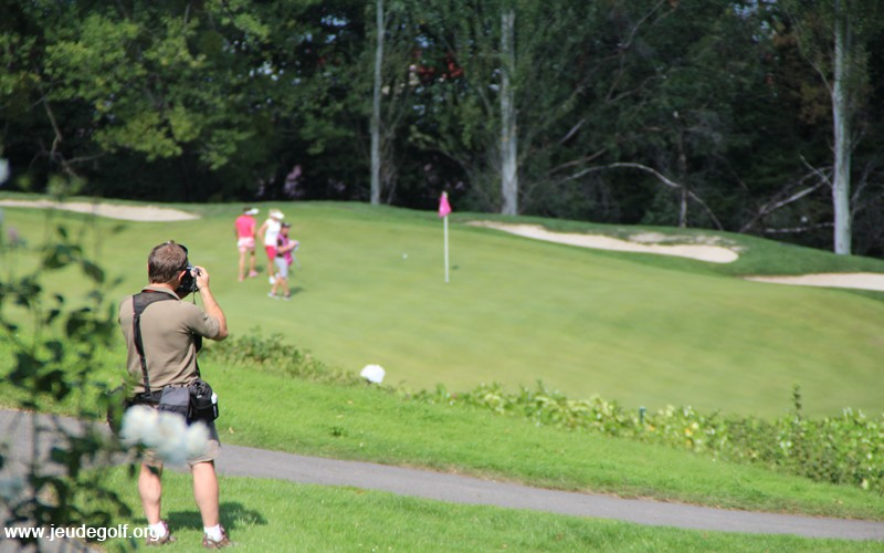 Le caractère scénique du golf d'Evian