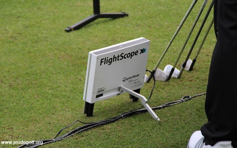 Flightscope utilisé sur le stand TaylorMade à Orlando