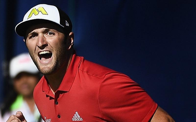 Jon Rahm après sa victoire à Torrey Pines (Getty Images)