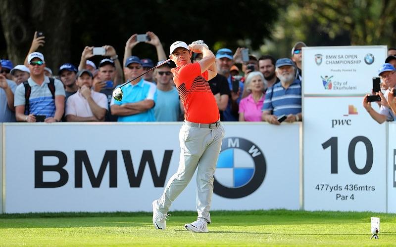 McIlroy et ses nouveaux clubs au SA Open 2017: Un 1er tour très suivi