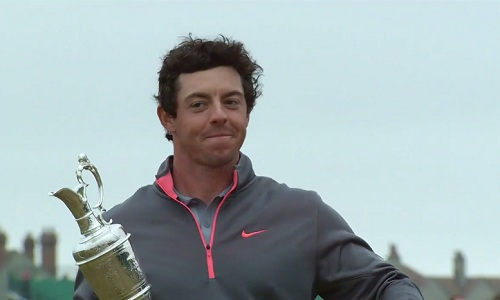 Rory McIlroy remporte The Open Championship 2014 à Hoylake