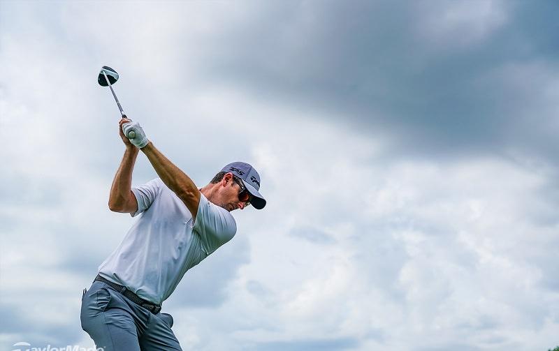 Au cours du fitting en présence de Jean-Jacques Rivet, et des équipes de TPT Golf, Rose a essayé 8 shafts différents.