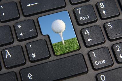 Réserver un parcours de golf sur Internet