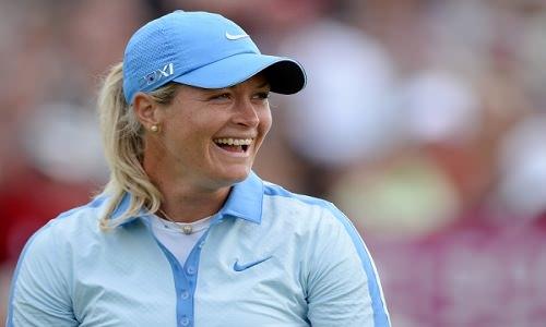 Le sourire de Suzann Pettersen