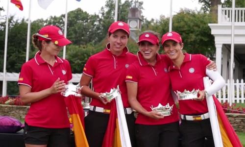 Les golfeuses Espagnoles règnent sur le Monde !