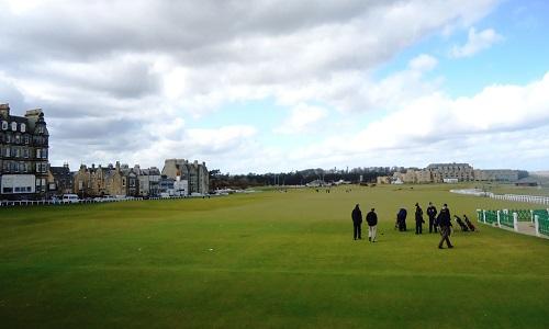 Expérience du golf à Saint-Andrews en Ecosse