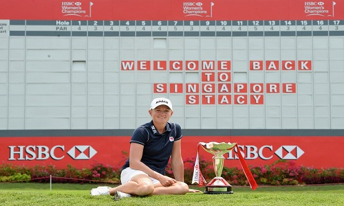 Welcome Back Stacy Lewis !