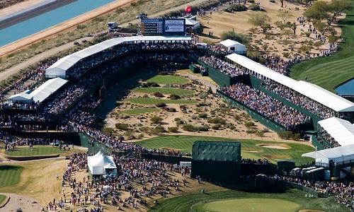 Le stadium course de Scottsdale (Phoenix)