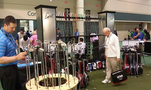 Stand Edel Golf au PGA Merchandise show d'Orlando