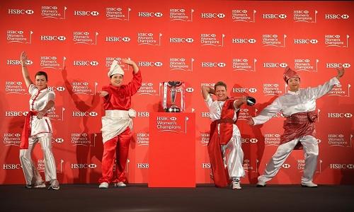 Suzann Pettersen à l'attaque du HSBC Women s Champions