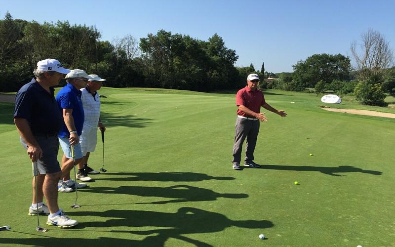 Mark Sweeney au golf de Saint-Donat