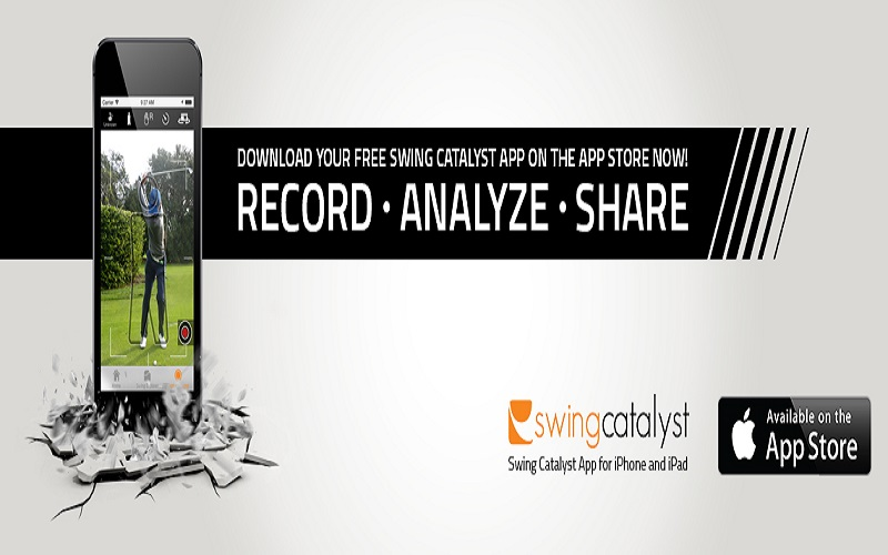 Test application golf pour smartphone Swingcatalyst