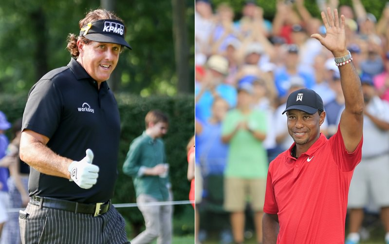 Tiger Woods – Phil Mickelson : Un match à 9 millions de dollars pour parler de golf ?