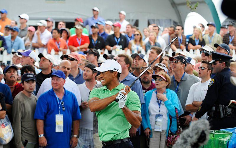Quel est l'impact de Tiger Woods sur l'industrie du golf ?