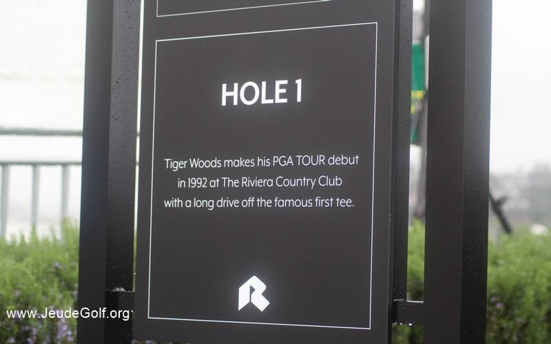 L'empreinte de Tiger Woods