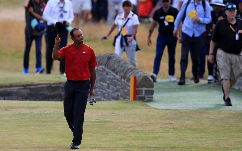 Tiger Woods tout près de gagner son 15eme majeur à Carnoustie