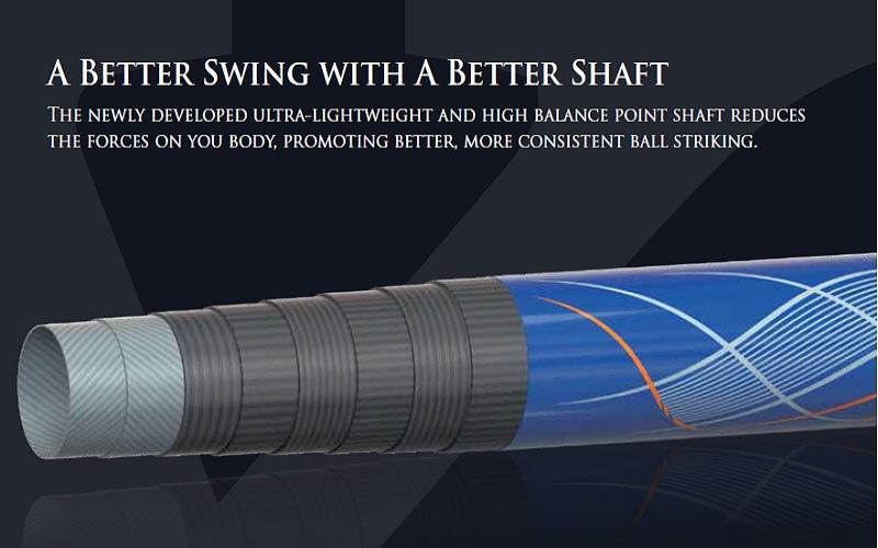 Un nouveau shaft imaginé avec Toray Industrie