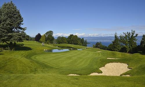 Le parcours d'Evian bien connu par les fans de golf du monde entier