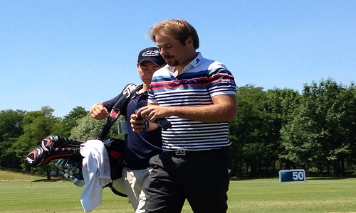 Le dernier putt de Victor Dubuisson sur le Turkish Airlines Open
