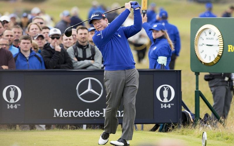 Le swing de golf plus que possible après la pose d'une prothèse totale de hanche !