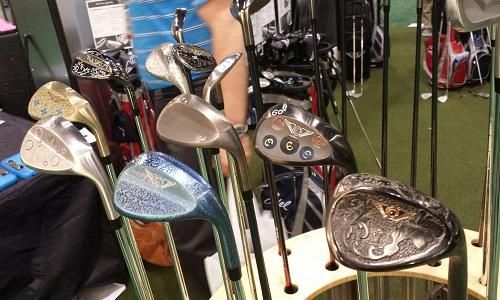Les fameux wedges de la marque Edel Golf