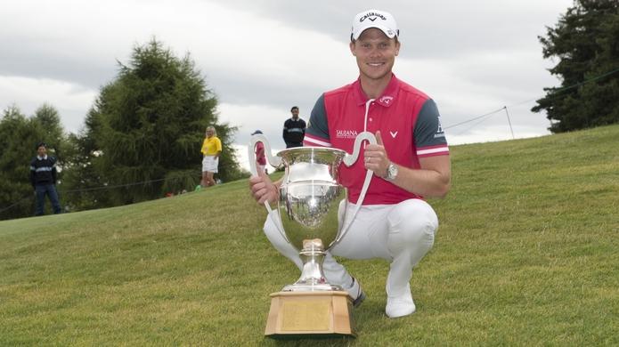 Danny Willett vainqueur de l'Open de Suisse