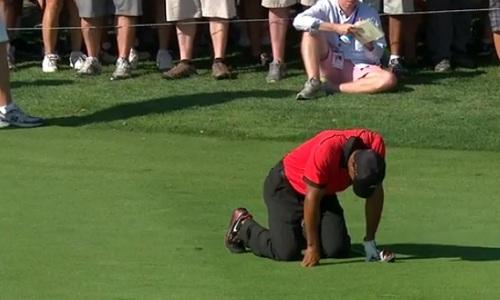 Tiger Woods à terre au Barclays Championship 2013