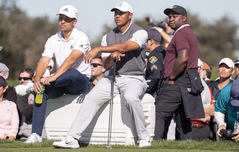 Tiger Woods entame une reprise en pente douce au Farmer's Insurance Open sur les parcours de Torrey Pines