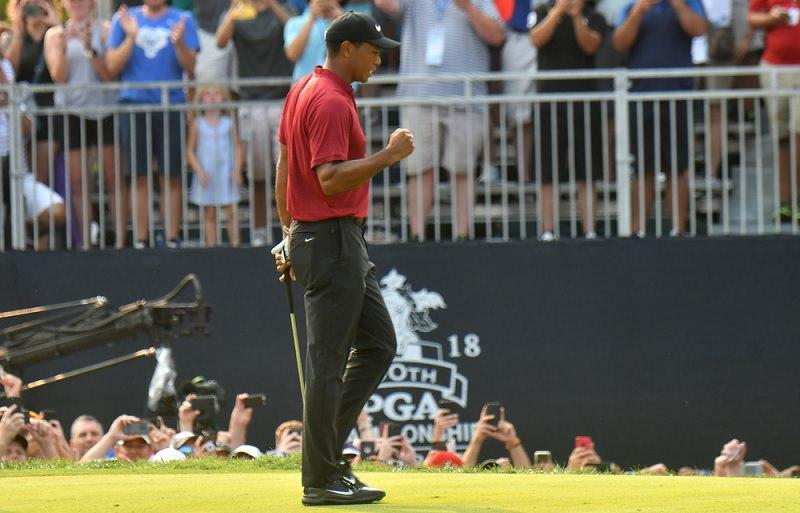 Ce dimanche, Woods a capturé notre attention, et nous a inspiré pour l'excellence de son attitude sur le parcours.