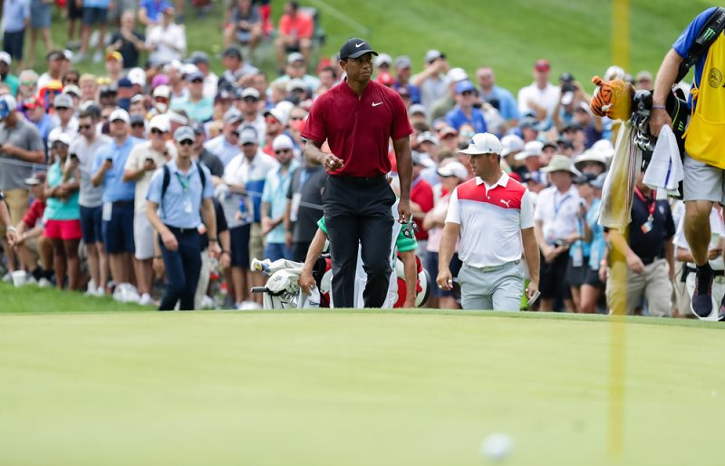 Aucun autre golfeur sur la planète n'est capable de créer une telle atmosphère.